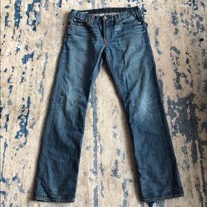 Bonobos Straight Leg White Oak Cone Jeans Sz 31x32